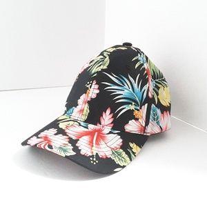 Unisex Hawaiian Print Snapback Baseball Hat
